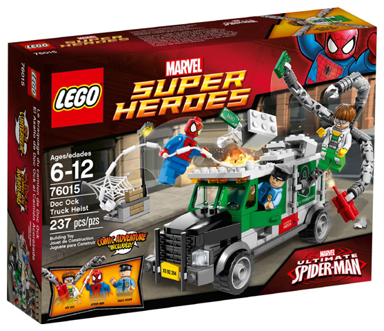 LEGO Super Heroes Doc Ock Truck Heist (76015) - New & sealed