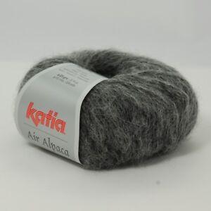 AIR-ALPACA-von-Katia-25g-Wolle-Fb-205-Mittelgrau
