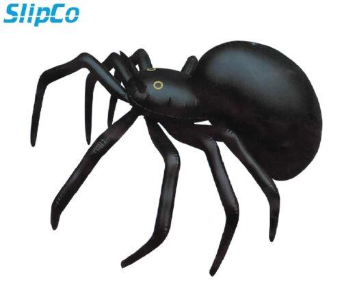 Grosse Araignée 91 cm gonflable blow up noir halloween prop décoration de partie énorme