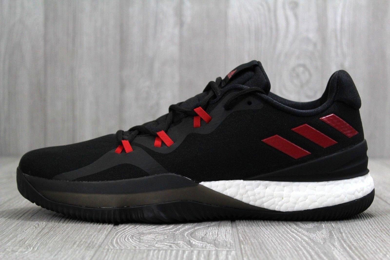 33 adidas verrückte licht fördern bis 2018 schwarz basketball / rot 2 niedrig basketball schwarz - schuhe sz. 1b944c