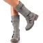 Womens-Zipper-Buckle-Mid-Calf-Boots-Vintage-Buckle-Sz35-43-Combat-Vintage-Shoes thumbnail 3