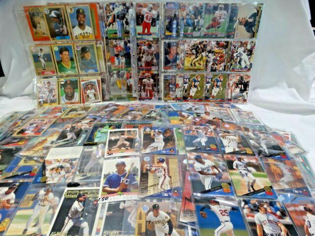 Mixed Lot of Collectible Sports Cards - Baseball, Basketball & Football 700+  K1