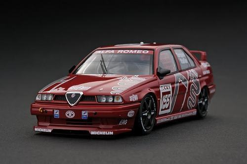presa Alfa Alfa Alfa Romeo 155V6 TI  CET Presentation HP8127  1 43 Hpì-racing  vendita scontata