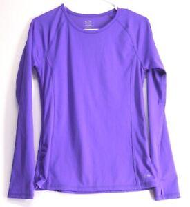 Champion-Women-039-s-Duo-Dry-Long-Sleeve-Shirt-Size-S
