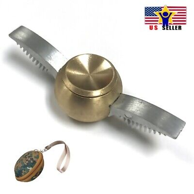 Case Harry Potter Quidditch Snitch Gold Metal Fidget Spinner Toy Long Spin