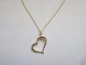 Piaget 18k yellow gold diamond limelight heart pendant necklace ebay piaget 18k yellow gold diamond limelight heart pendant aloadofball Gallery