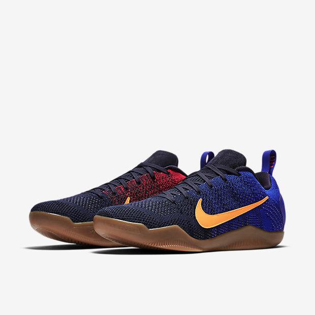 Nike kobe xi 11 elite basso mambacurial fcb barcellona 844130-464 kobe bryant
