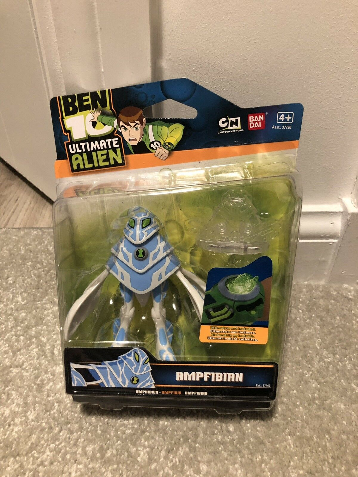 Ben 10 figure Ampfibian Ultimate Alien