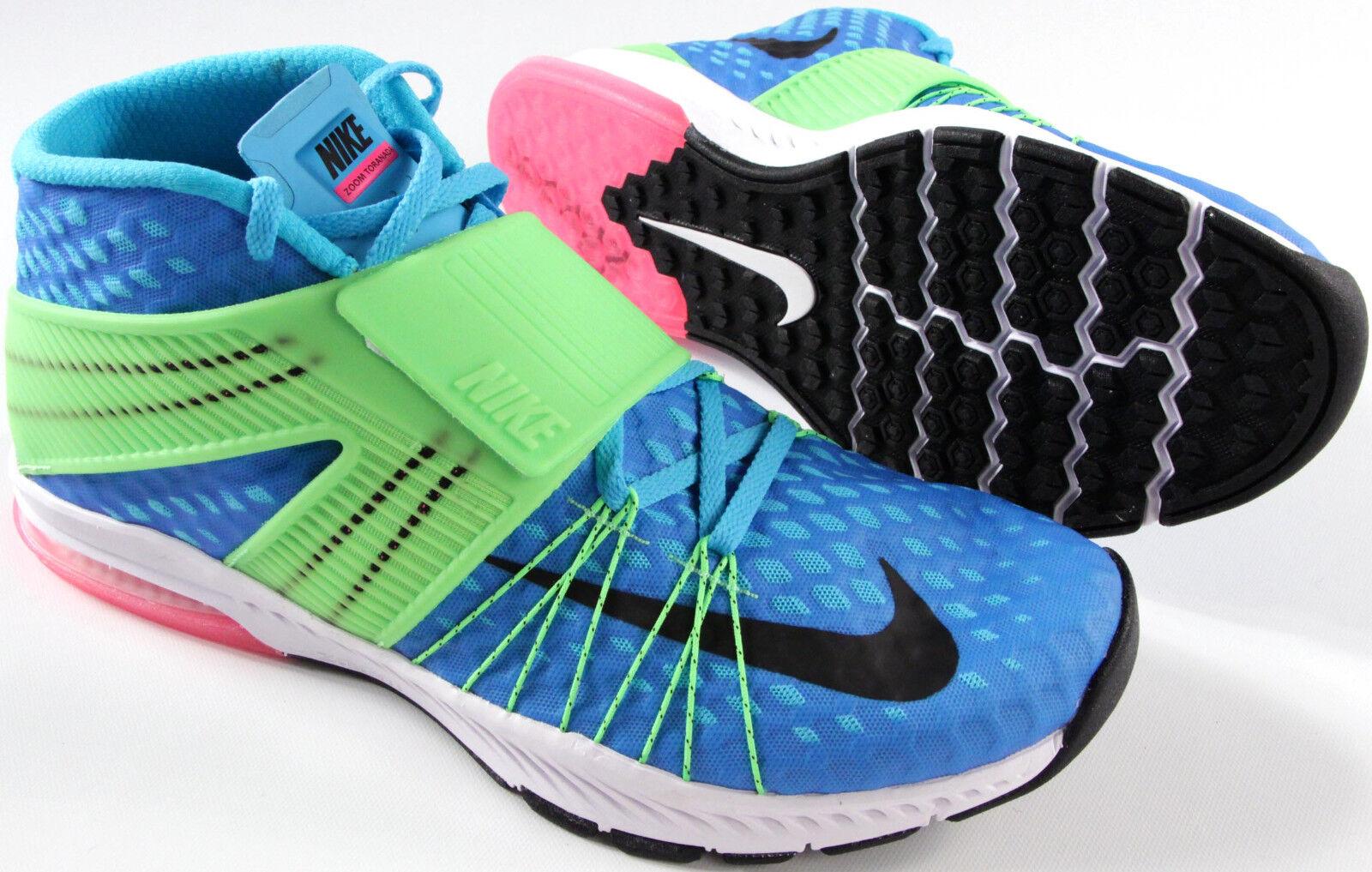 NIKE Zoom Air Train Toranada shoes-NEW-bluee green mesh running gym sneakers- 140