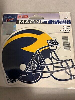 Wincraft NCAA Michigan Wolverines Die-Cut Decals Pair Navy Blue//Maize