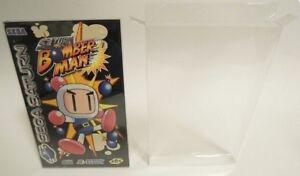 20-x-Sega-Saturn-Game-Box-Protectors-Plastic-Display-Case