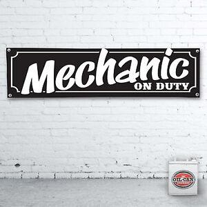 Mechanically-on-duty-Banner-Heavy-Duty-for-Workshop-Garage-1700-x-430mm