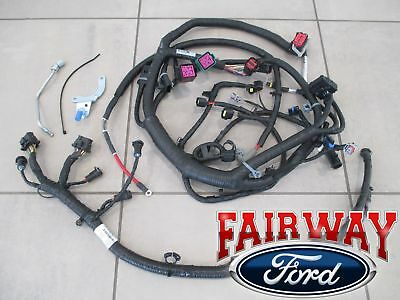 03 super duty oem ford engine wiring harness diesel 6.0l built before  1/30/03 | ebay  ebay