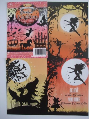 """Hunkydory 24 mixed Little Book of Card /""""Twilight Kingdom Sunset Edition/"""""""
