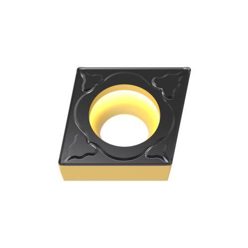 CVD Beschichtung 10 x ISO Norm Wendeplatten CCMT 09T304 zum Drehen NEU