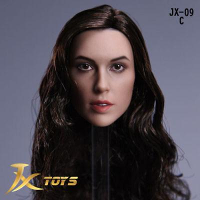 Wonder Woman Gal Gadot JXtoys 1//6 JX-09 Head Sculpt Model Fit 12/'/' Female Figure