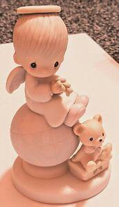 "Precious Moments ""Peace On Earth"" Porcelain Figurine 1980"