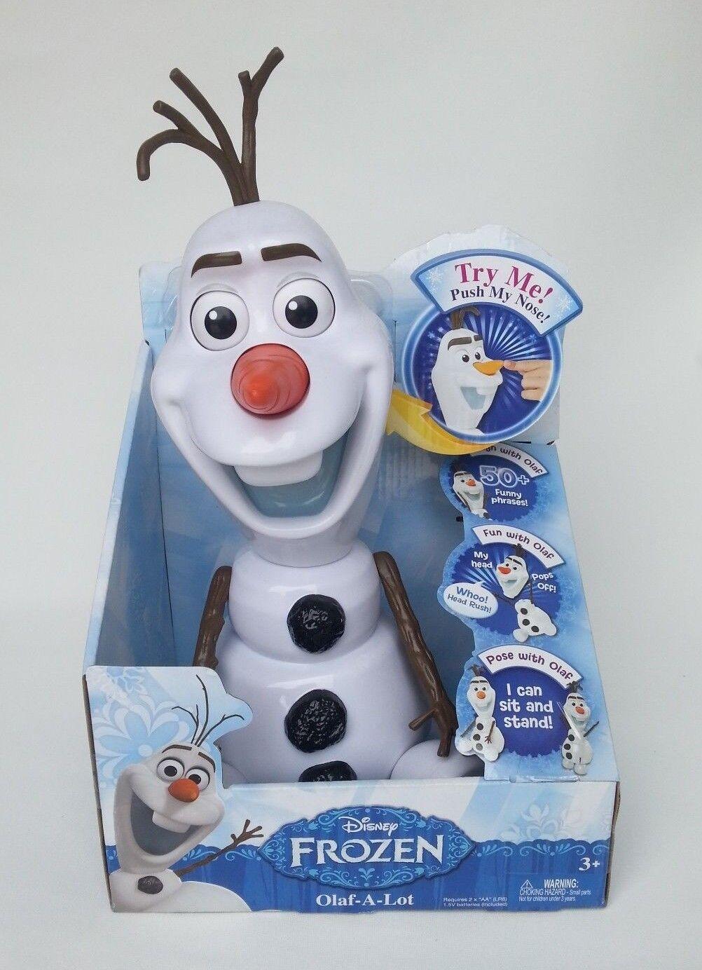 Frozen Olaf-A-Lot Figure Toy Present Christmas Birthday Party Kids Santa