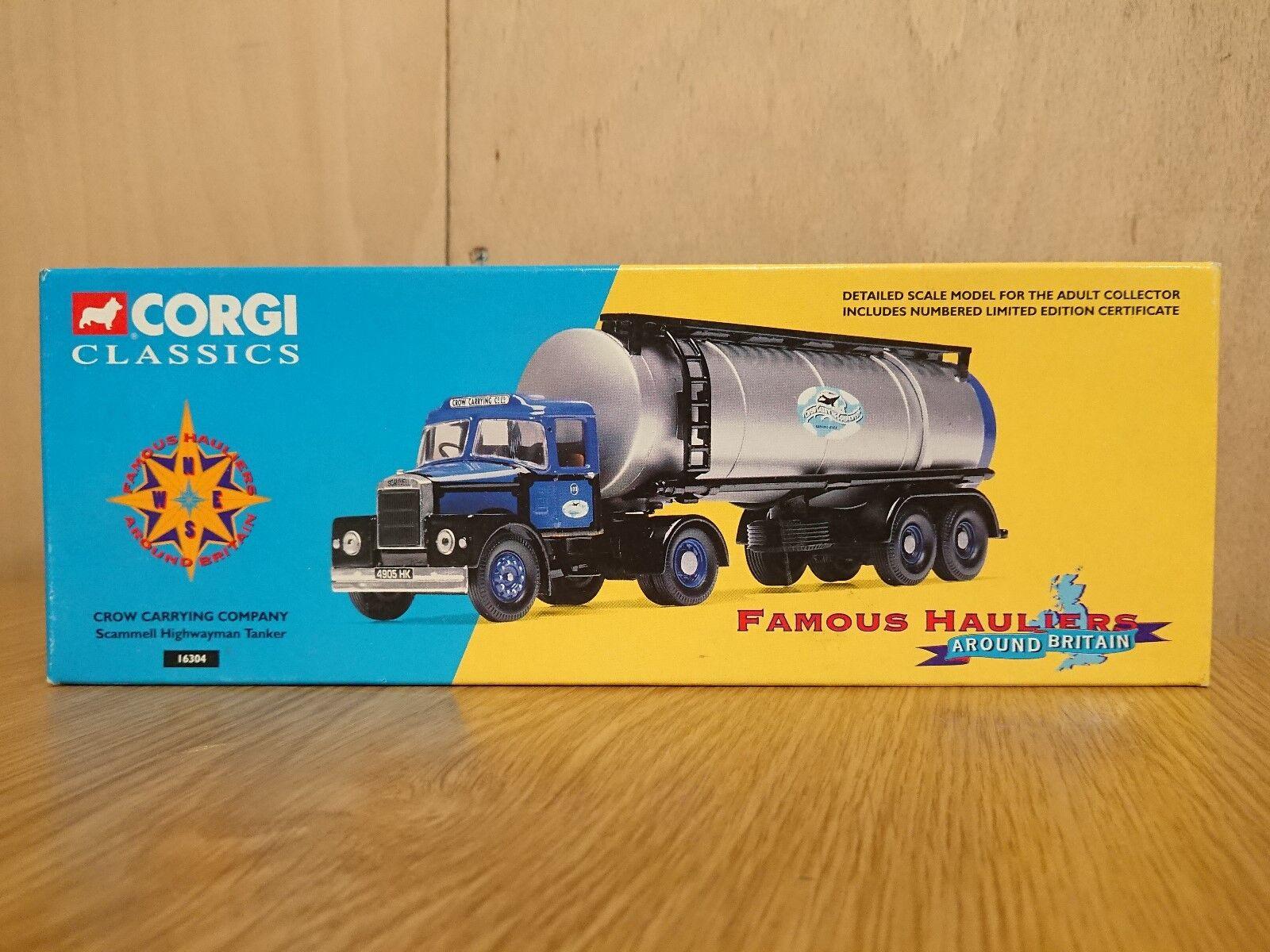 Corgi Classics 16304 Scammell Scammell Scammell Highwayman Tanker Crow CC Ltd Ed. No. 0002 of 5200 66e6da