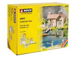 NOCH-60813-Ho-Perfekt-Set-034-Lake-034-New-Original-Packaging