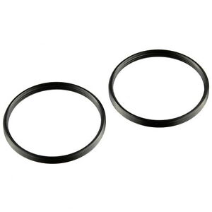 2PCS Step Up Adapter Ring for Leica M39 Mount Lens to M42 Camera Body M39-M42