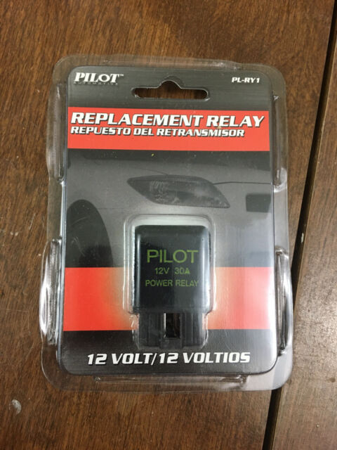Pilot Automotive 4 Pin 30 Amp Relay