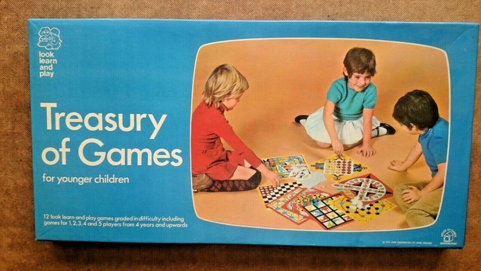 Vintage trésor de jeux par Waddingtons 1973