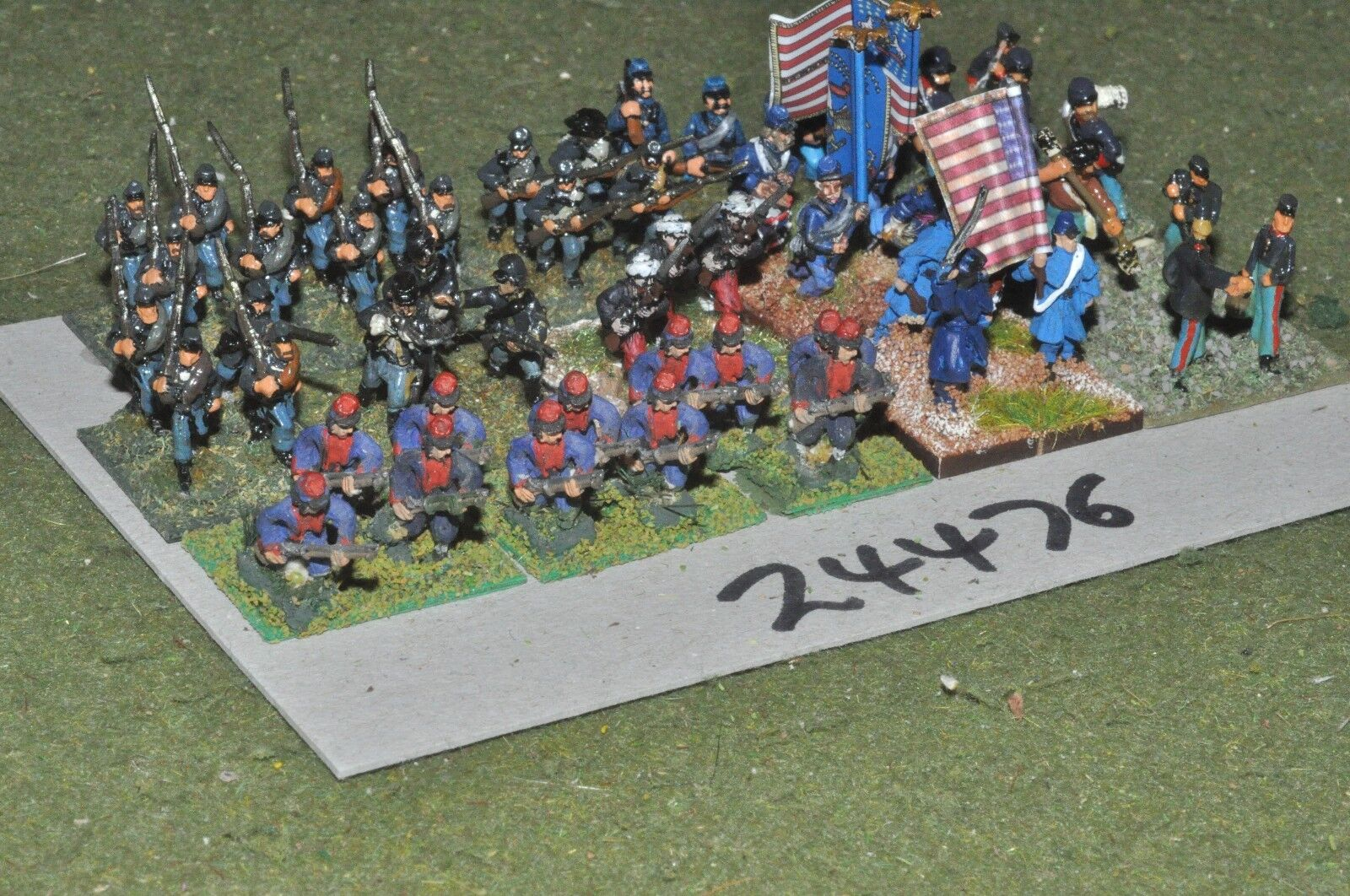 15mm ACW   union - mixed 48 figures - inf (24476)