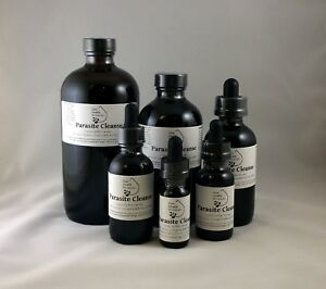 Details about Parasite Cleanse Tincture/Extract-Wormwood,Black Walnut Hull,  Clove,Best Quality