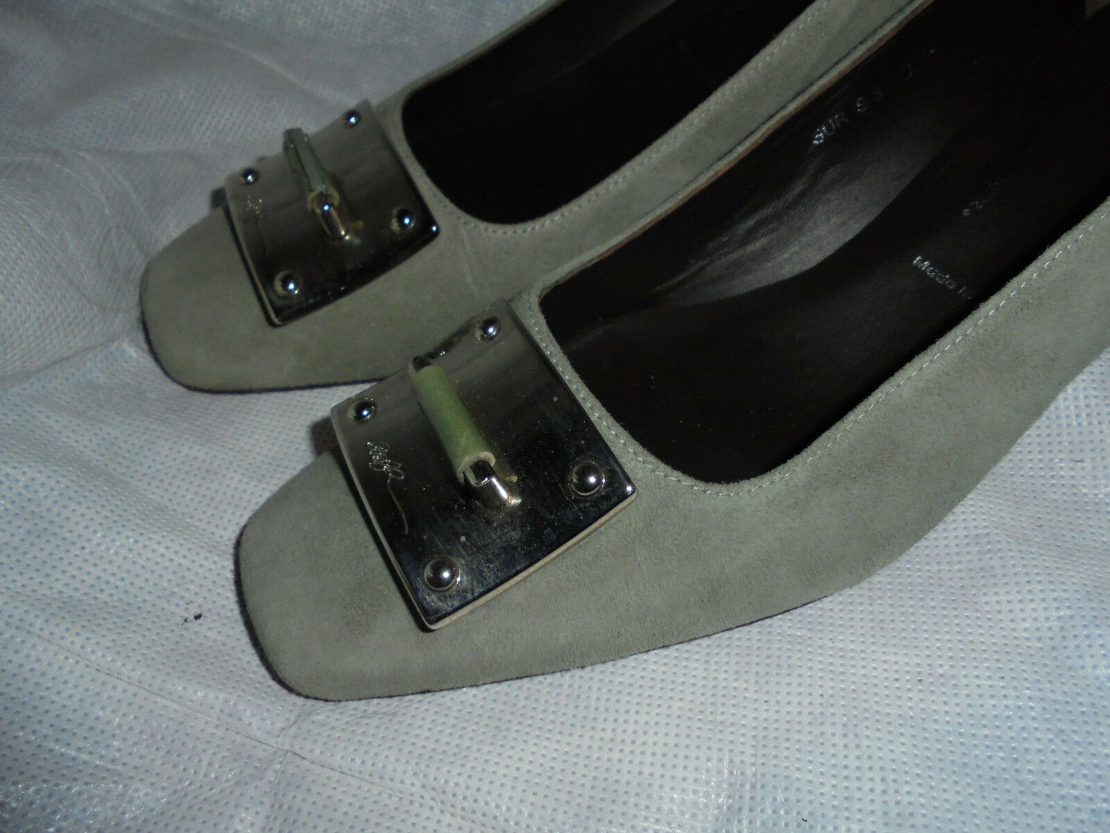 DONALD J PLINER WOMEN SUEDE LEATHER SLIP ON ON ON SHOE SIZE UK 4.5 EU 37 US 7.5 M VGC acecd7
