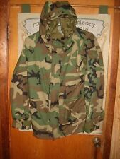 US Army Official ECWCS Wet Weather Gore-Tex Medium Regular Woodland Parka