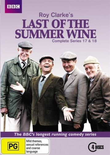 1 of 1 - Last Of The Summer Wine : Series 17-18 (DVD, 2012, 4-Disc Set)