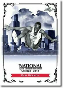 BOB-BEAMON-2013-LEAF-NATIONAL-EXCLUSIVE-COLLECTORS-PROMO-CARD