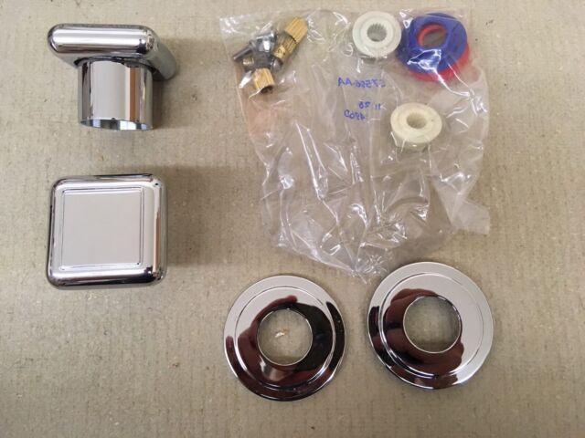 Polished Chrome Kohler K-T10068-9-CP Oblo Deck-Mount Bath Handles ...