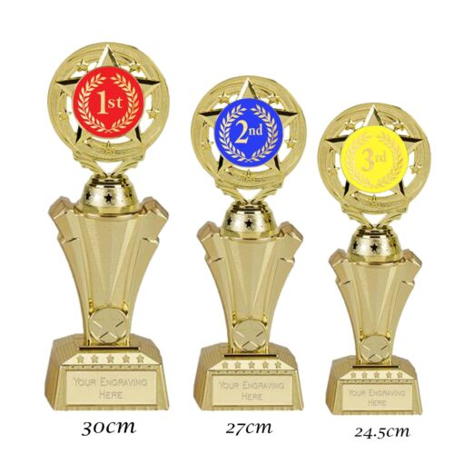 *1st 2nd & 3rd Place Trophies  3 Sizes available FREE ENGRAVING
