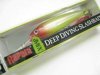 """Rapala X-Rap XRD10-OG Olive Green 4/"""" 100mm Deep Diving Slashbait Crankbait Lure"""