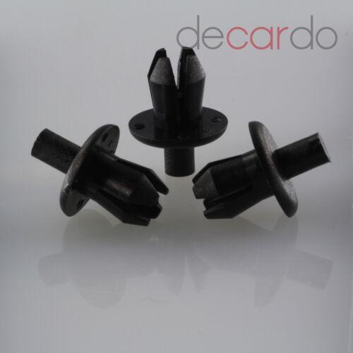 20 x volkswagen n0385491 plástico spreizniete befstigungs clips clip Klip