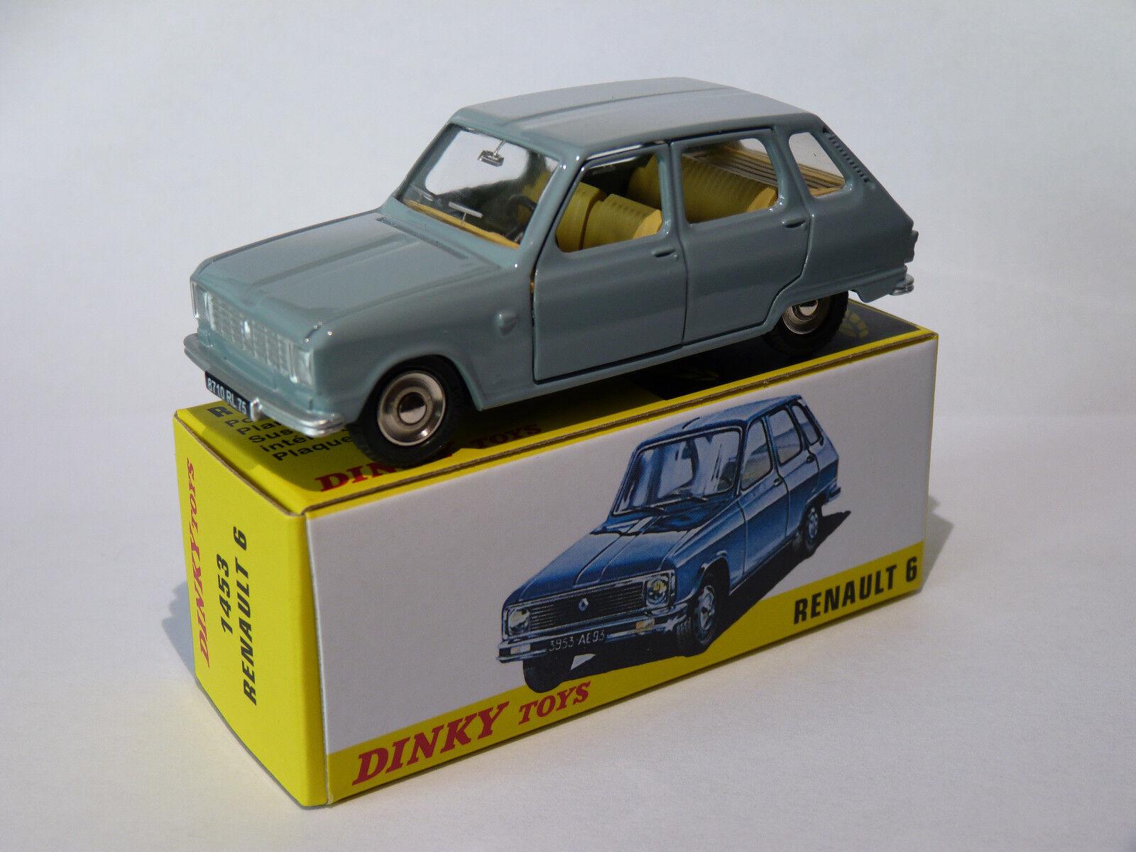 Renault 6   R6 phase II - ref 1453 au 1 43 dinky toys atlas