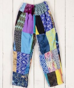 Gringo-Patchwork-Baggy-Pants-Trousers-Fair-Trade-Festival-Ethnic-Yoga-Elastic