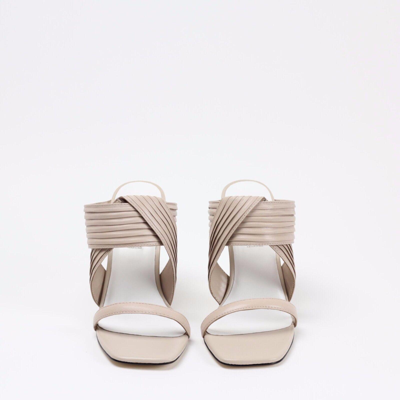 Senso Sera II Nude Beige Matt Kid Leder Schuhe High Mule Sandale Summer Schuhe Leder 02deea