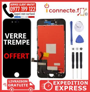 Ecran LCD iPhone 7 8 Plus 6S Vitre tactile Blanc Noir Sur Châssis + Outils