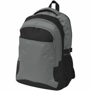 Travel-Hiking-Camping-Backpack-Rucksack-Luggage-Waterproof-40-L-Black-and-Grey