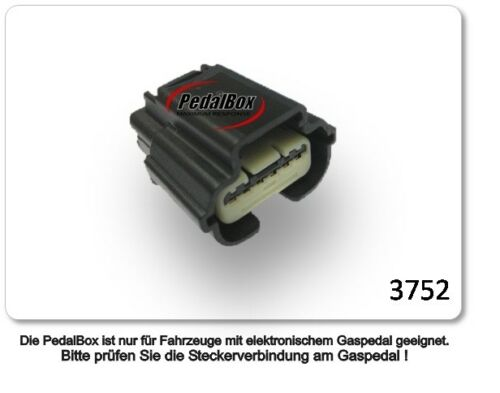 DTE pedalbox 3 S pour FORD USA Edge 132 kW 08 2015-2.0 TDCI awd Tuning gaspedalbox