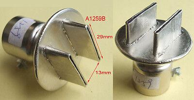 for 850 852 Soldering station Hot Air Gun Air Tip BGA Nozzle 29mm X 13mm A1259B