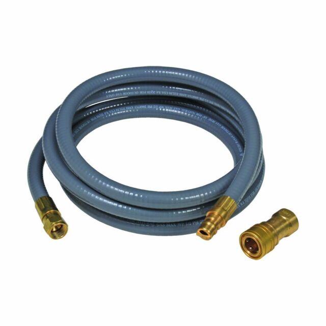 "Brinkmann 10-Feet Natural Gas Quick Connect 3//8/"" Hose 812-7227-S New"