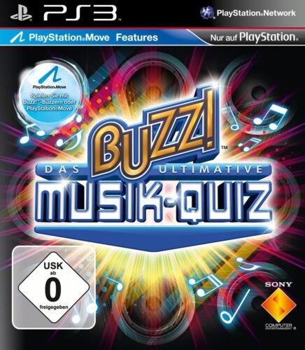 1 von 1 - Buzz!: Das ultimative Musik-Quiz PS3 Neu & OVP