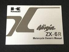 1999 KAWASAKI ZX 6 R NINJA - OWNERS MANUAL USUARIO LIBRETTO USO HANDBOOK