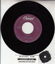 "CROWDED HOUSE  Distant Sun 7"" 45 rpm record + juke box title strip NEW RARE!"