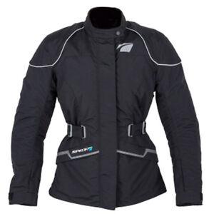en imperméable noir moto textile Solde respirante Spada femmes pour de Veste Anna vqn0zZCw
