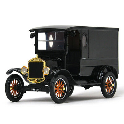 1//24 Scale Diecast Model Toy Car Black 79316PTM Motormax 1925 Ford Model T Paddy Wagon